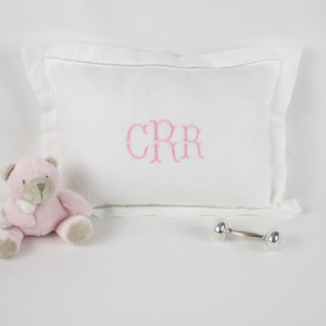 Personalized Monogrammed Baby Pillow