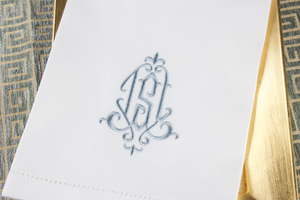 Monogram Cotton Birdseye Handtowel