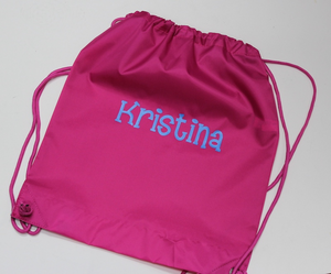 Personalized Drawstring Backpack Bag