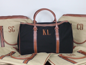 Men's monogram duffle bag