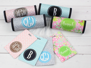 Personalized Luggage Tag & Wrap Set
