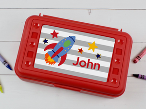 Personalized School Pencil Box