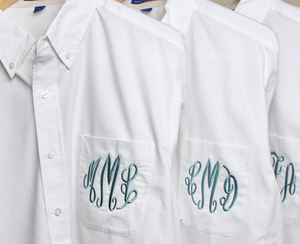 Personalized Monogrammed Button-Down Shirt