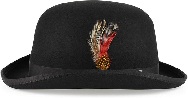 Men's Derby Hat (Black)