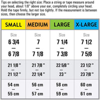 Mens newsboy cap sizing chart