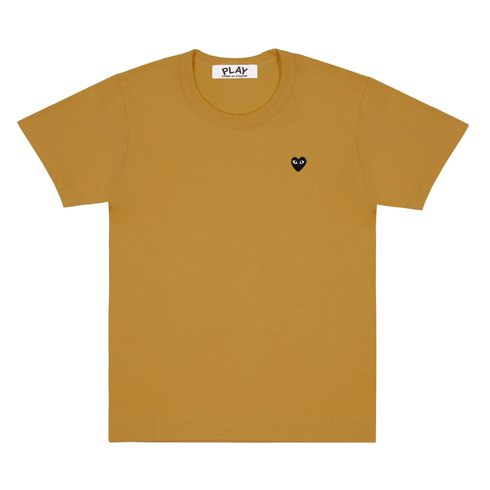 Play Comme des Garçons Colour Series T-Shirt Little Black Heart (Olive)