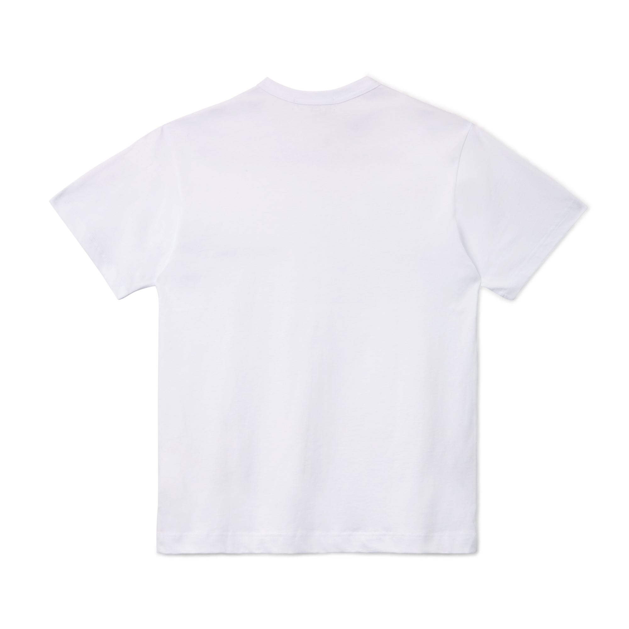 CDG Shirt Logo Short Sleeve T-Shirt (White)
