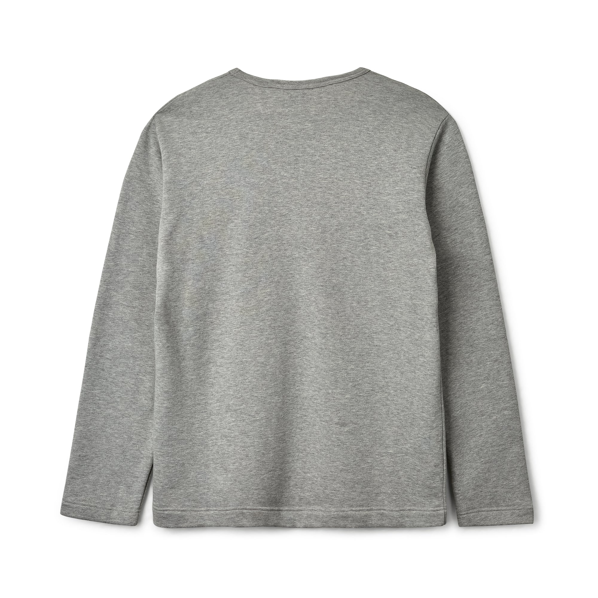 CDG Shirt x Yue Minjun Long Sleeve Sweater (Grey)