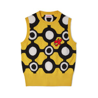 Charles Jeffrey LOVERBOY Block Colour Vest (Yellow)