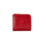 Honey Fucking Dijon Small Leather Wallet (Red)