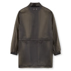 Honey Fucking Dijon Semi Transparent Windbreaker (Smoke Grey)