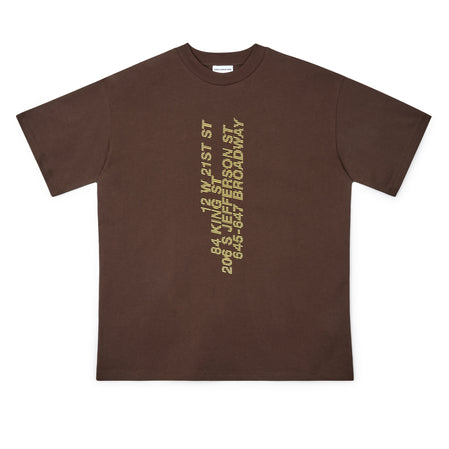 Honey Fucking Dijon Address T-Shirt (Brown)