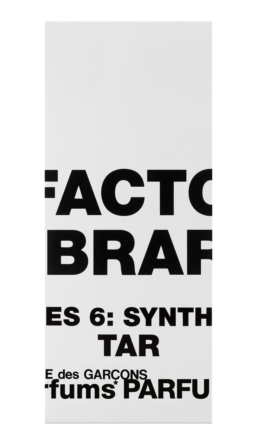 Olfactory: Series 6 Synthetic - Tar (50ml natural spray)