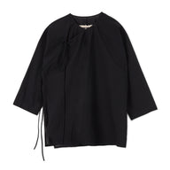 Uma Wang Asymmetric Shirt (Black)
