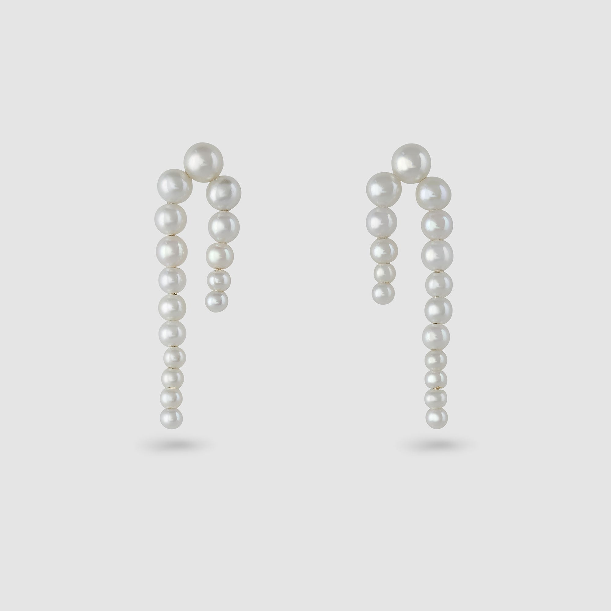 Sophie Bille Brahe Petite Perle Nuit Earrings