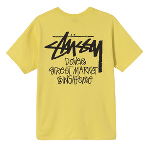 Stüssy Stock DSM Singapore T-Shirt (Yellow)