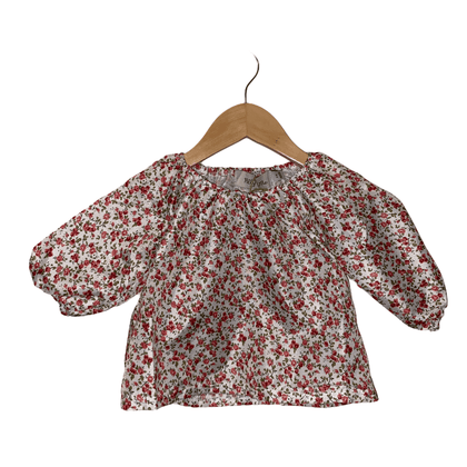 Ally Tops Floral - Jenaca & Co