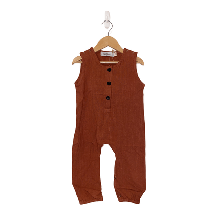 Ally Clay Jumpsuit - Jenaca & Co