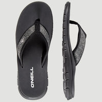 Arch Structure Sandals | Black Out