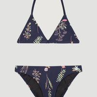 Venice Beach-Party Bikini Set | Blue With Pink or Purple