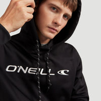 Rutile Hooded Fleece | Black Out