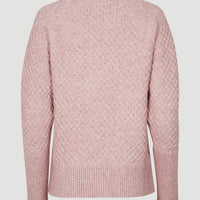 Honeycomb Knit Pullover | Keepsake Lilac