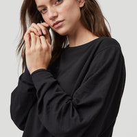 Essential Structure Crew Sweatshirt | Black Out
