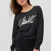 Cali Crew Sweatshirt | Black Out