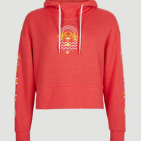 Cali Graphic Hoodie | Hot Coral