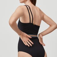A-Symmetrical Swimsuit | BlackOut - A