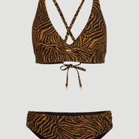 Teaser Bikini Set | Black With Brown