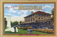 Montana Post Card Books