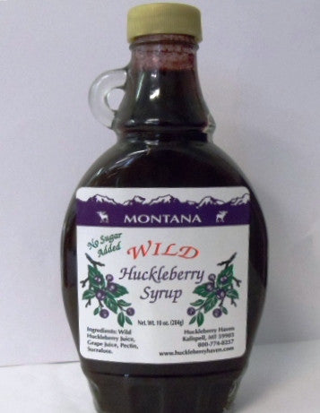 Sugar-Free Huckleberry Syrup
