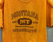 Montana Mud Adult t-shirt