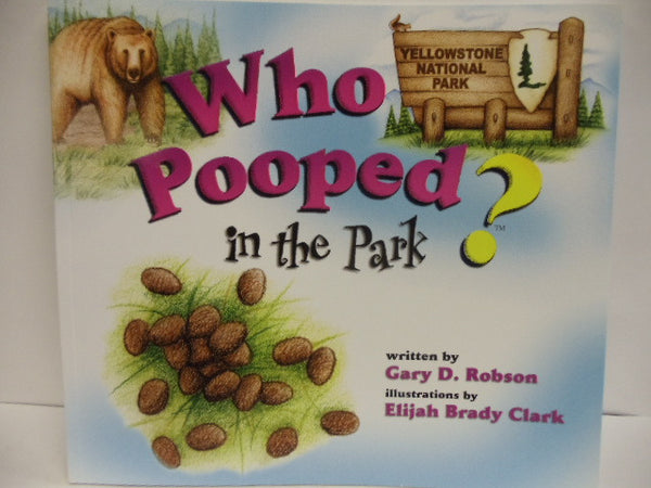 Who Pooped in the Park? Book