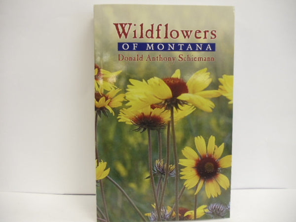Wildflowers of Montana Book