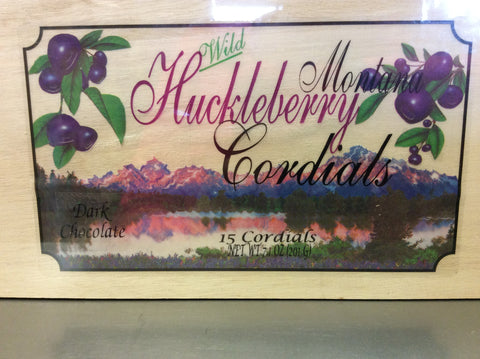 Wild Huckleberry Cordials in a Gift Box