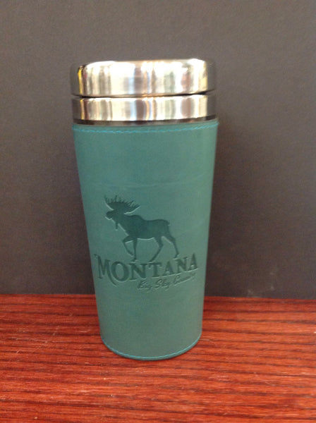 MT Leatherette Thermal Mug