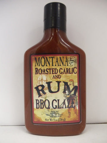 Roasted Garlic and Rum BBQ Glaze