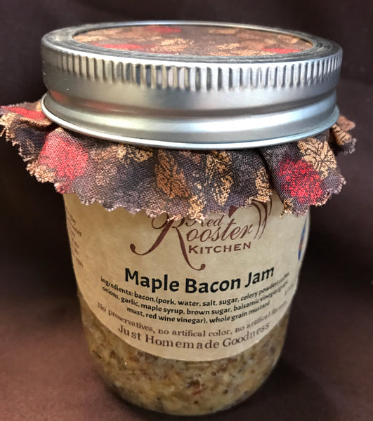 Red Rooster Maple Bacon Jam