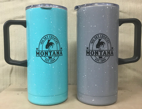 Tall Camp Thermal Montana Mug with Lid