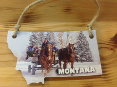 Montana Ornament Large