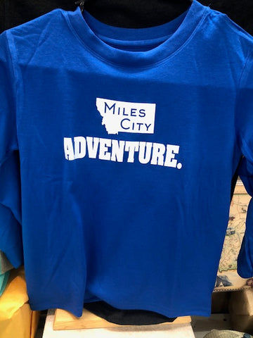 Youth Miles City Adventure Long Sleeve T