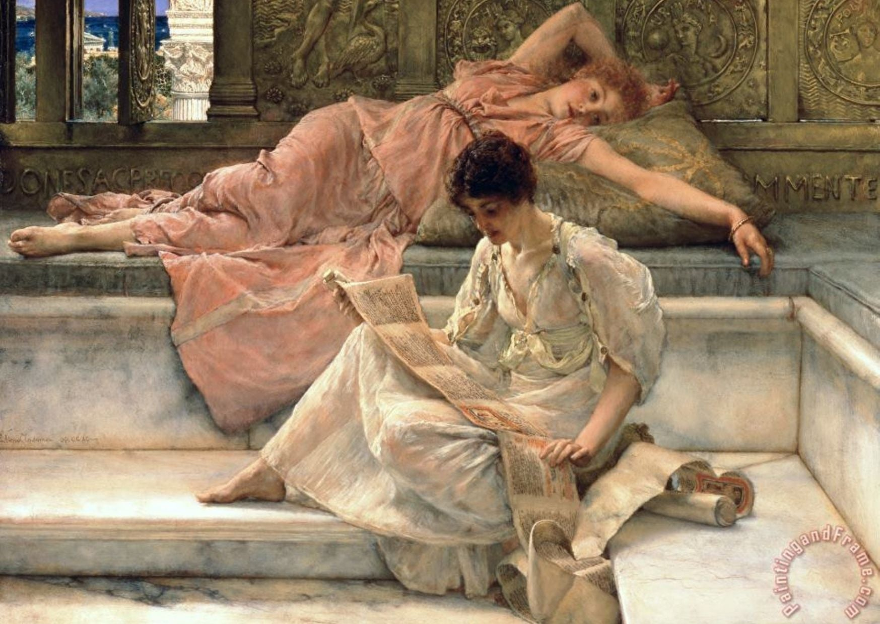 Painting by Tadema