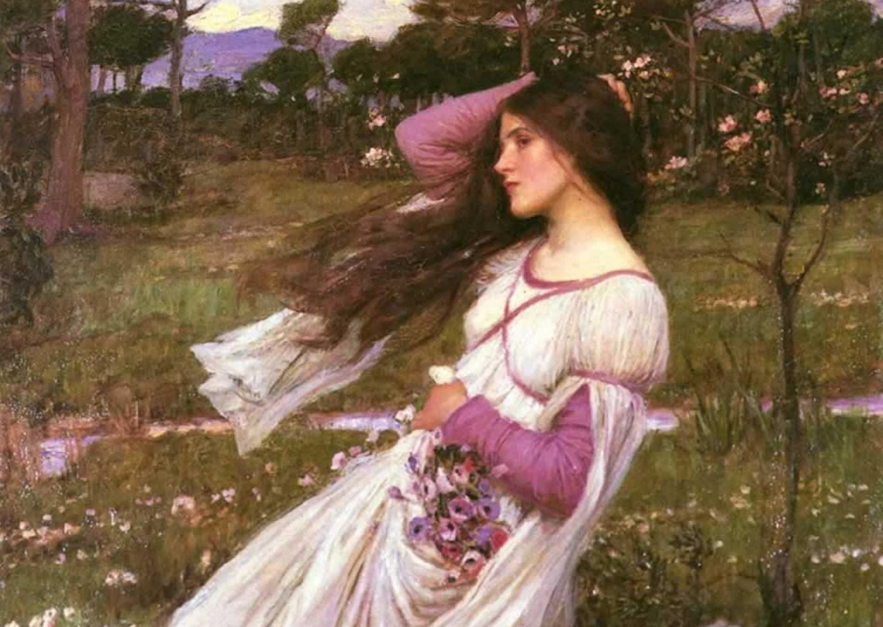 Painting by JW Waterhouse