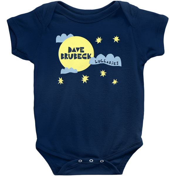 Lullabies Onesies (white/navy)