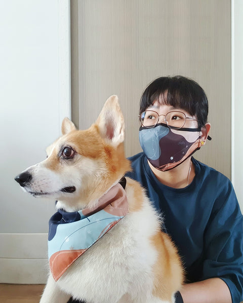 Matching Pet Bandana
