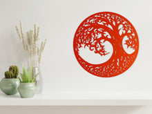 Load image into Gallery viewer, Tree of Life 2 Wall Art in Copper from Monea Metal Design