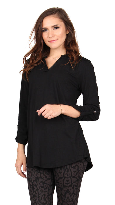 Roll Up Sleeve Tunic