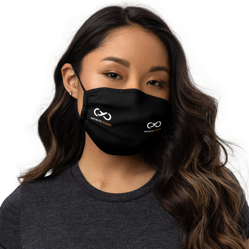 Infinite Flight Logo Face Mask